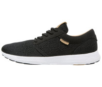 HAMMER - Sneaker low - black/tan/white