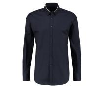 SLIM FIT Hemd dunkel blau