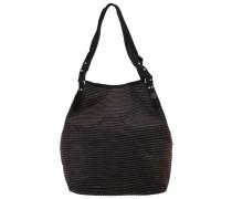 NINE SPARK Handtasche raye noir