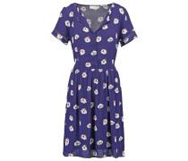 Blusenkleid imprime violet