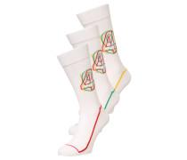 3 PACK Socken white