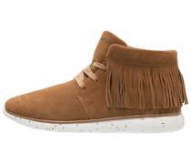 Sneaker high tan
