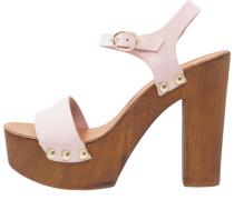 High Heel Sandaletten - confetto
