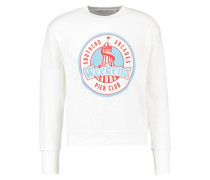 DIRTY WEEKEND Sweatshirt white