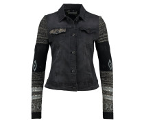 SALLY - Jeansjacke - black