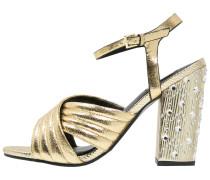 CITY High Heel Sandaletten metallic