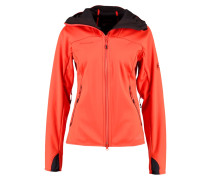 ULTIMATE Softshelljacke barberry/black