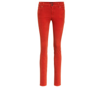 Jeans Slim Fit red clay