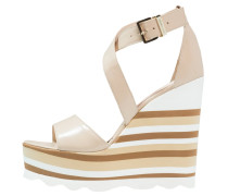 High Heel Sandaletten - beige