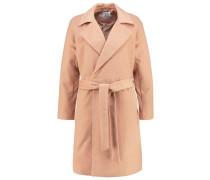 Wollmantel / klassischer Mantel tawny