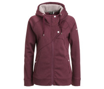 JOZI Fleecejacke plum heather
