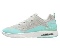 DEMON Sneaker low light grey/turqoise
