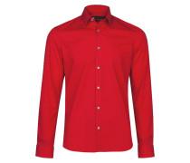 SLIM FIT Hemd red