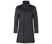 HARRISON Wollmantel / klassischer Mantel anthra