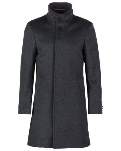 baldessarini herren harrison wollmantel klassischer mantel anthra reduziert. Black Bedroom Furniture Sets. Home Design Ideas