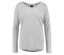 SECONDA Langarmshirt light grey