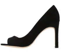 High Heel Peeptoe black