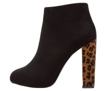 High Heel Stiefelette nero/naturale