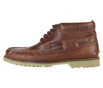 Schnürstiefelette brown leather