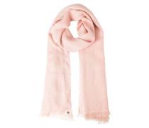 Schal pastel pink