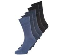 5 PACK Socken blue