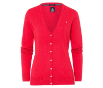 Strickjacke red