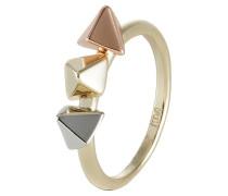 Ring light goldcoloured