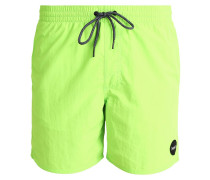 Badeshorts fluor green