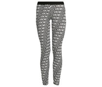 BASIC Leggings Hosen black/white