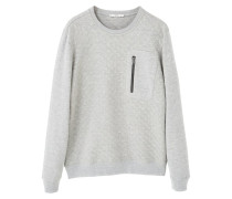 SQUARE Sweatshirt light heather grey