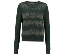 Strickjacke art green