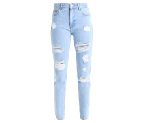 Jeans Straight Leg - light blue denim