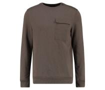 Sweatshirt - mid brown