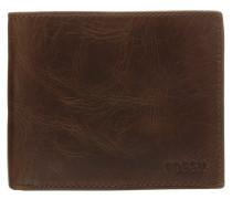 DERRICK Geldbörse dark brown