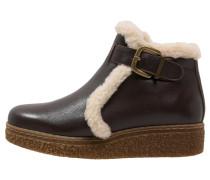 POMO Ankle Boot mokka/beige