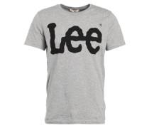 T-Shirt print - grey mele