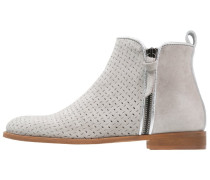 WINTON - Ankle Boot - marmo/bossato metal/argento