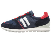 NUMBER - Sneaker low - blue/red