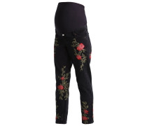 ROSE - Jeans Relaxed Fit - washedblack
