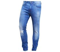 VEGAS - Jeans Slim Fit - distroyed denim