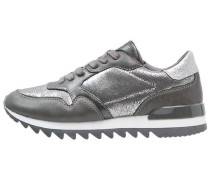 Sneaker low dark grey/silver