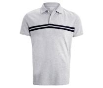 Poloshirt heather grey