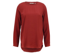 Bluse - maroon red