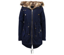 Parka navy blue