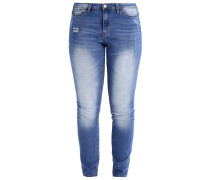 JRFIVE Jeans Slim Fit medium blue denim