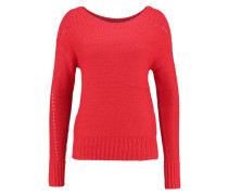Strickpullover new nordic red