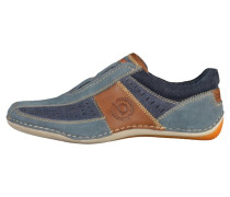 Slipper - blue/brown
