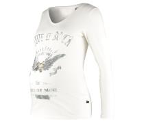 Langarmshirt off white