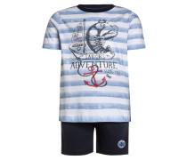 SET - Shorts - blau