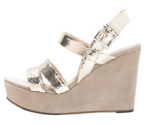 VIVI Keilsandalette light gold/sabbia